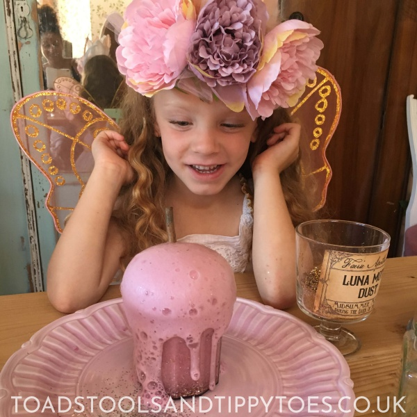 Lots of fairy fun to be had with our DIY Fizzy Fairy Potions
