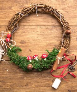 Christmas Fairy Wreath Kit - perfect to decorate this Christmas and treasure year after year